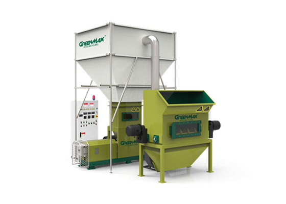 発泡スチロール減容機-GREENMAX MC-300