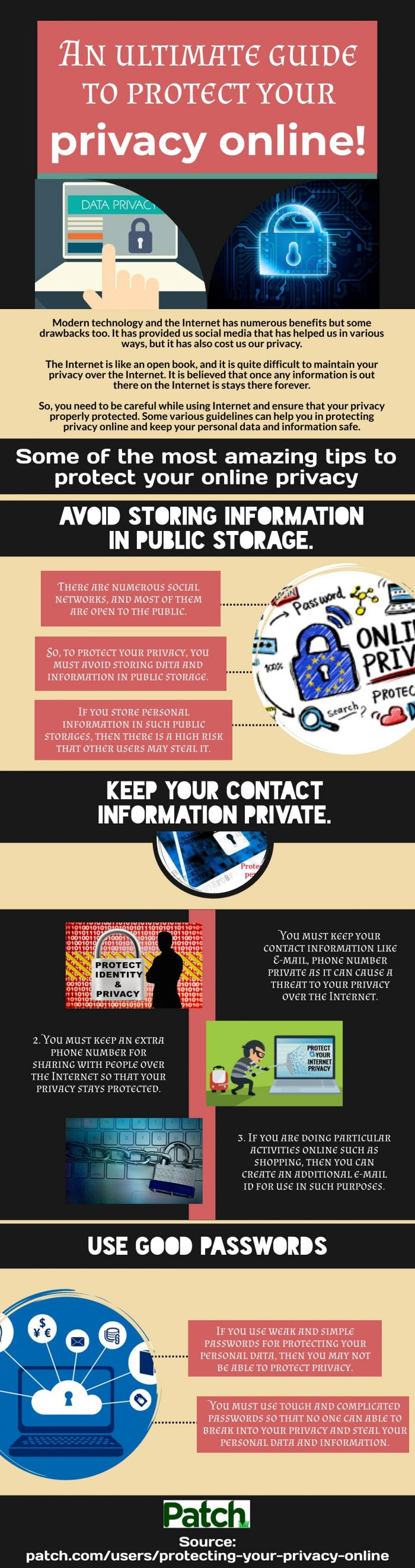Where Can I find the best Protecting privacy online