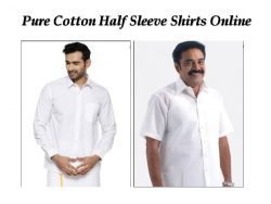 Pure Cotton Men's Shirts