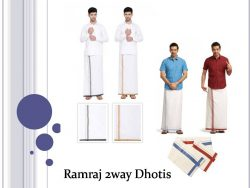 Ramraj 2way Dhotis