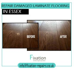 Repair Damaged Laminate Flooring In Essex with Fixation-repairs.co.uk