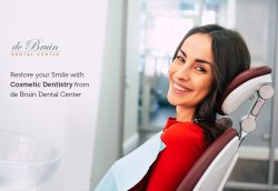 Restore your Smile with Cosmetic Dentistry from de Bruin Dental Center