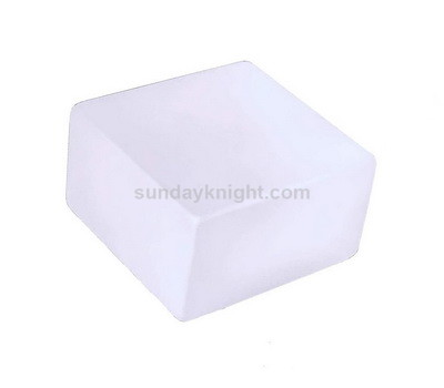 Sand blasting frosted acrylic paperweight – Factory direct sale