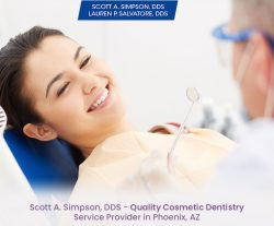 Scott A. Simpson, DDS – Quality Cosmetic Dentistry Service Provider in Phoenix, AZ
