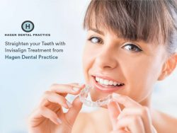 Straighten your Teeth with Invisalign Treatment from Hagen Dental Practice