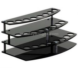 Stylish black lipstick display stand – Design and manufacturing service
