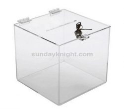 Suggestion box with lock, Clear lockable suggestion box – Custom service