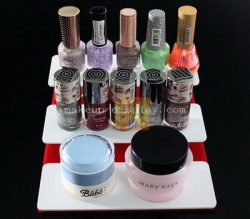 Tabletop acrylic cosmetic display stand – Made to order