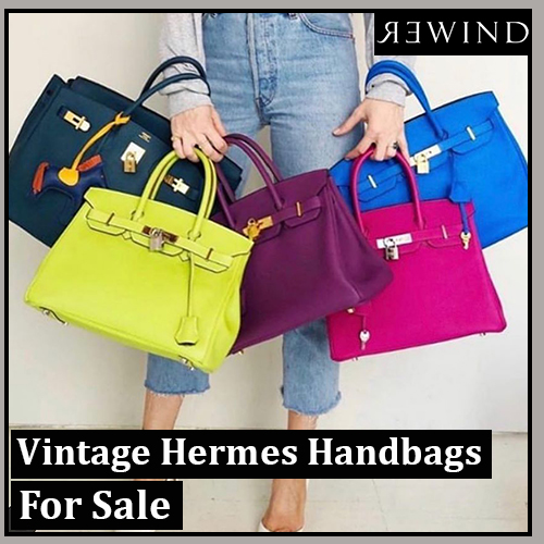 Vintage Hermes Handbags For Sale at Rewind Vintage Affairs