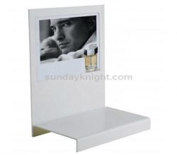 White acrylic cosmetic display – China factory direct sale