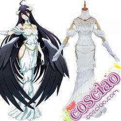 オーバーロード アルベド コスプレ衣装 エロい 通常姿 コスチューム服 通販 女性 Overlord