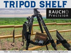Tripod Shelf At Rauch Precision LLC