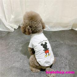 ミッキーマウス ドッグウェア 可愛い 犬シャツ Mickey Mouse ペットウェア 小型犬服 中型犬服 大型犬服 ...