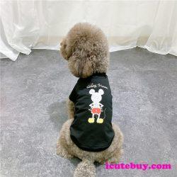 ミッキーマウス ドッグウェア 可愛い,ミッキー ペットウェア 夏用,ミッキーマウス 犬シャツ 可愛い,ミ ...