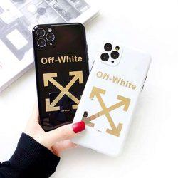 off-white アイフォン11/11 proケース オフホワイト ブランド風 iphone11pro max/xs maxカバー 矢印 掌 ...
