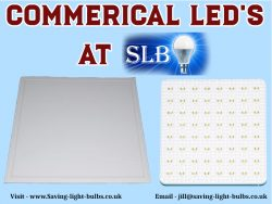 Commerical LED's At Saving Light Bulbs