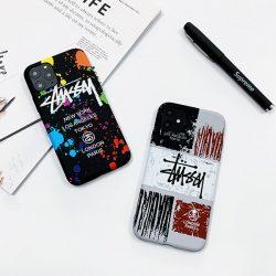 超人気 Stussy iphone 12/11 pro maxケースブランド iPhone11ケース