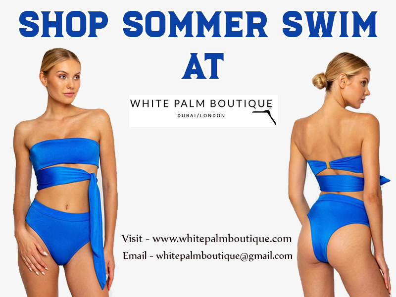 Shop Sommer Swim At White Palm Boutique