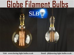 Globe Filament Bulbs At Saving Light Bulbs