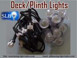 Deck/Plinth Lights At Saving Light Bulbs