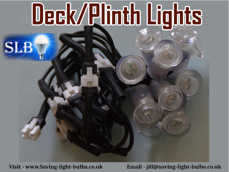 Deck/Plinth Lights At Saving Light Bulbs