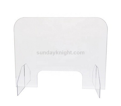 Acrylic barrier shield for desk – China factory direct sale