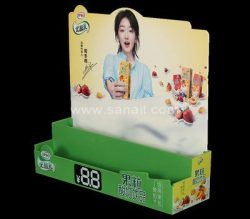 Acrylic display stand for drink beverage, Beverage display stands