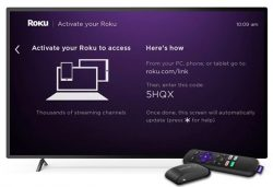 Activating Roku Streaming Device