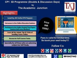 3D programme Of Actuarial Science by The Academic Junction