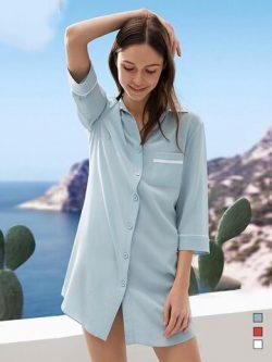 22 Momme High Quality Women's Design 2019 Silk Sleep Shirt
