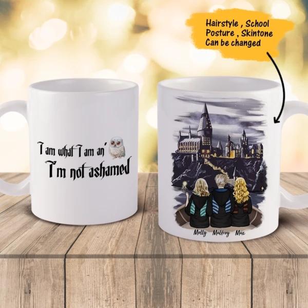 Personalized School Of Magic Mug – Best Friends