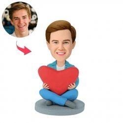 Heart Man Custom Bobblehead