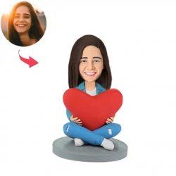 Heart Women Custom Bobblehead