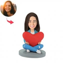 Heart Women Custom Bobblehead