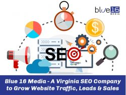Blue 16 Media – A Virginia SEO Company to Grow Website Traffic, Leads & Sales