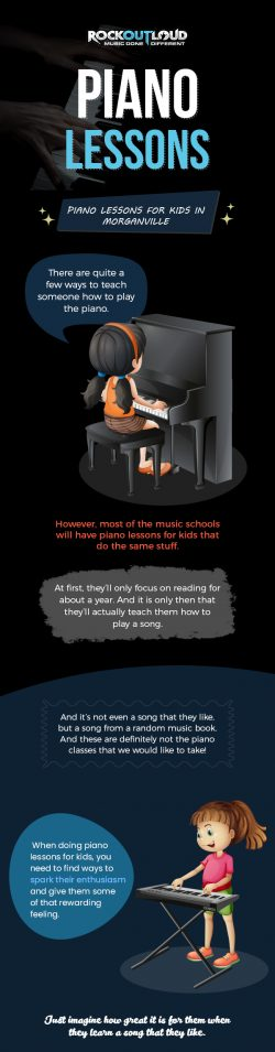 Choose Rock Out Loud For Piano Lessons For Kids in Morganville