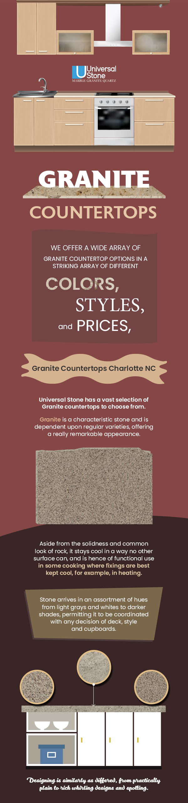 Choose Universal Stone to Buy Beautiful Range of Granite Countertops