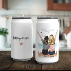 Custom Stainless Steel Insulation Cup Mug-Best Friend