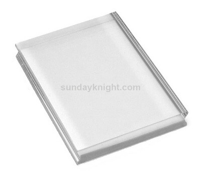 Clear Acrylic Block Rectangle Stamp Blocks – China Factory Wholesale