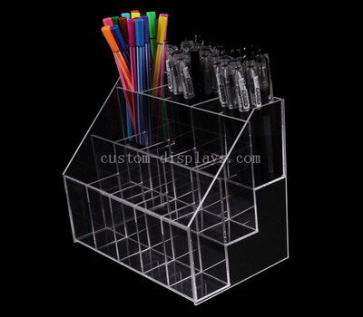 Clear acrylic pen display organizer – Custom made service