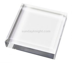 Custom acrylic beveled display block – China factory direct sale