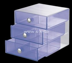 Custom plexiglass drawers boxes, acrylic storage box