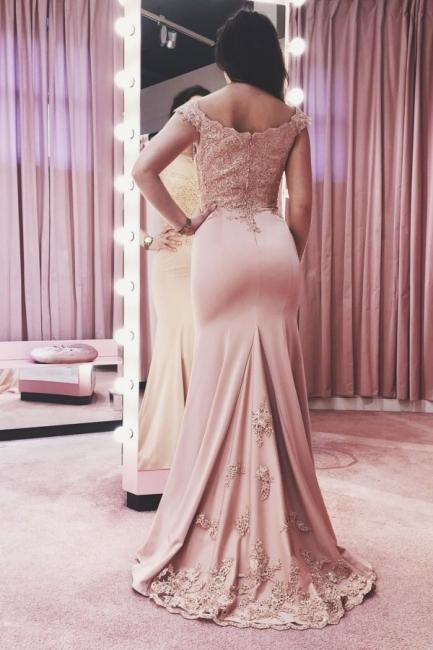 Abendkleider Lang Rosa | Festliche Abendgarderobe