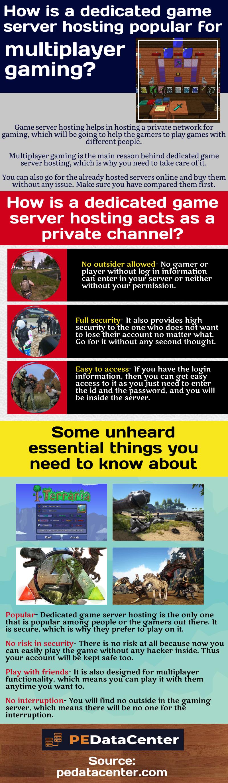 Important reasons behind dedicated game server hosting