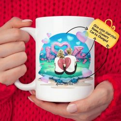 Personalized Couple Lover Coffee Mug(Online Design & 3D Preview) | Made In USA
