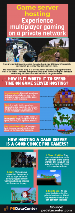 Game server hosting-Letting gamers show their skills