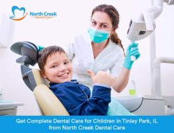 Get Complete Dental Care for Children in Tinley Park, IL from North Creek Dental Care