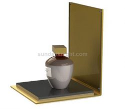 Gold acrylic perfume display stand – Made to order