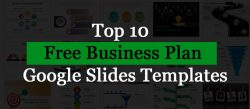 Top 10 Free Business Plan Google Slides Templates!!