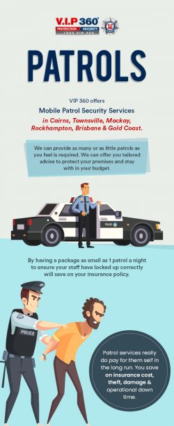 Hire Residential & Commercial Mobile Patrols in Brisbane from VIP 360